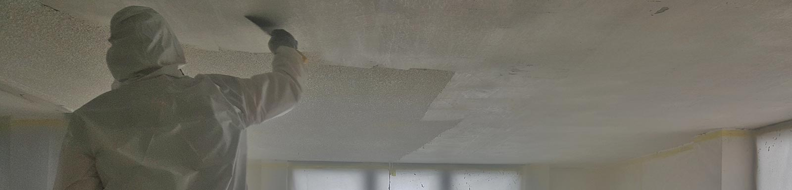 Removing Asbestos Popcorn Ceiling in Palm Beach