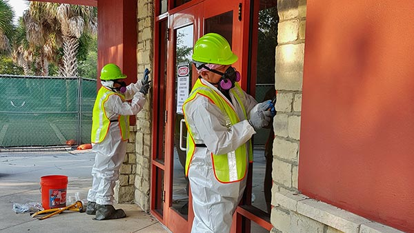 Asbestos Caulking Removal