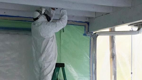 Lead paint removal service in west palm beach by fundisa restoration for Removing lead paint from exterior of house