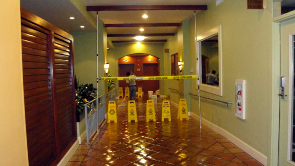 Mexican Tile Restoration Water Damage